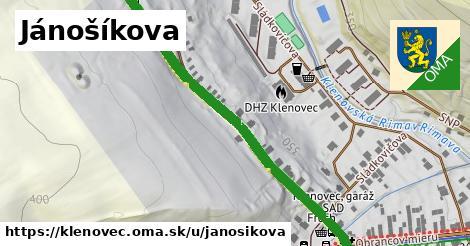 ilustrácia k Jánošíkova, Klenovec - 530m