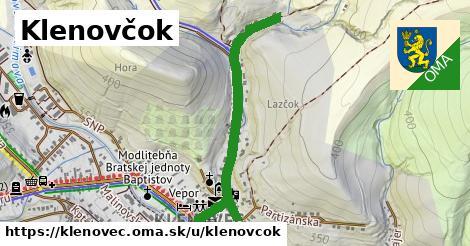 ilustrácia k Klenovčok, Klenovec - 0,84km
