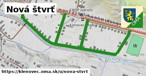ilustračný obrázok k Nová štvrť, Klenovec
