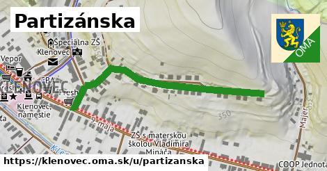 ilustrácia k Partizánska, Klenovec - 492m