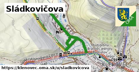 ilustrácia k Sládkovičova, Klenovec - 0,91km