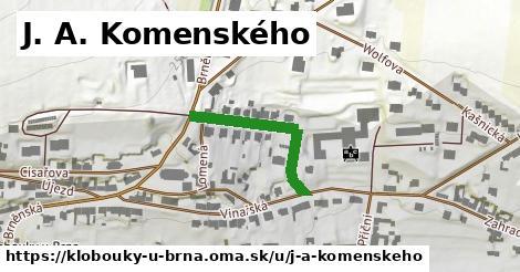 ilustrácia k J. A. Komenského, Klobouky u Brna - 254m