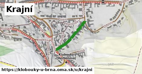 ilustrácia k Krajní, Klobouky u Brna - 212m