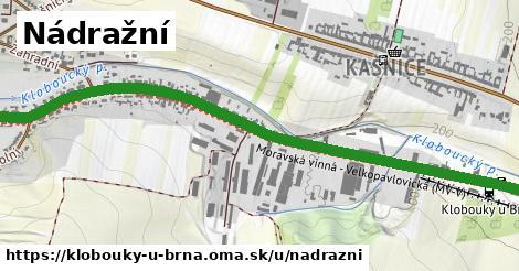 ilustrácia k Nádražní, Klobouky u Brna - 1,79km