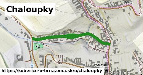 ilustrácia k Chaloupky, Kobeřice u Brna - 493m