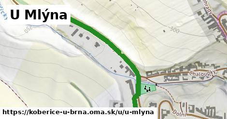 ilustrácia k U Mlýna, Kobeřice u Brna - 472m