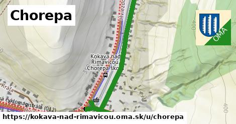 ilustrácia k Chorepa, Kokava nad Rimavicou - 482m