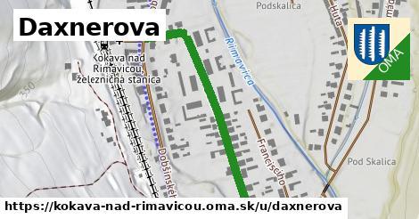 ilustrácia k Daxnerova, Kokava nad Rimavicou - 439m