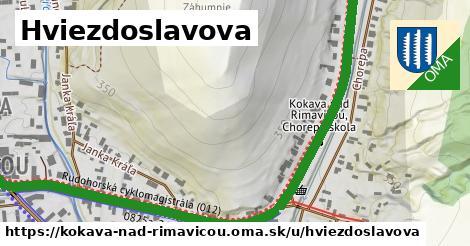 ilustrácia k Hviezdoslavova, Kokava nad Rimavicou - 1,07km