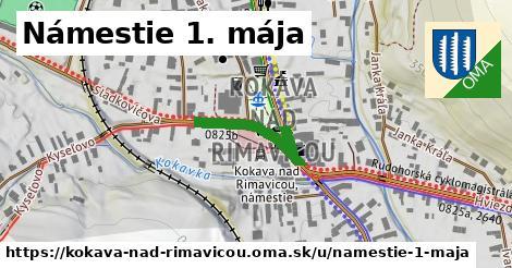 ilustrácia k Námestie 1. mája, Kokava nad Rimavicou - 177m