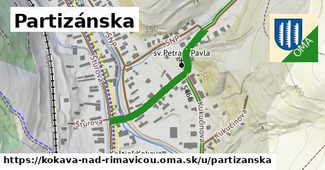 ilustrácia k Partizánska, Kokava nad Rimavicou - 213m
