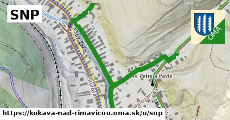 ilustrácia k SNP, Kokava nad Rimavicou - 365m