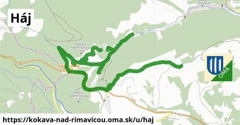 ilustrácia k Háj, Kokava nad Rimavicou - 2,0km