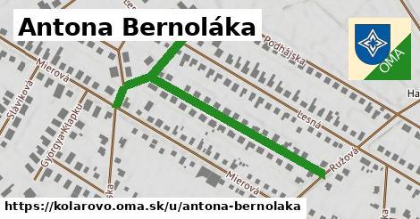 ilustrácia k Antona Bernoláka, Kolárovo - 536m