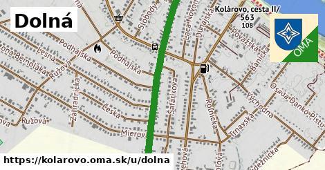 ilustrácia k Dolná, Kolárovo - 398m