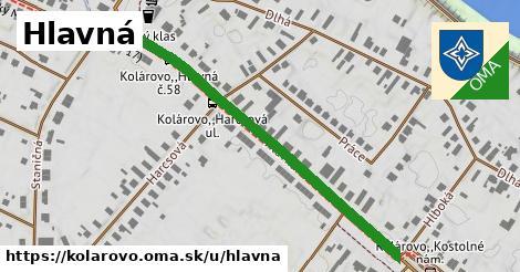ilustrácia k Hlavná, Kolárovo - 545m