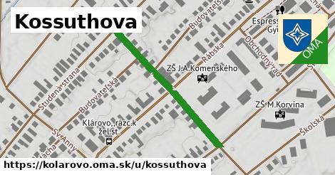 ilustrácia k Kossuthova, Kolárovo - 348m