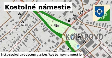 ilustrácia k Kostolné námestie, Kolárovo - 0,80km