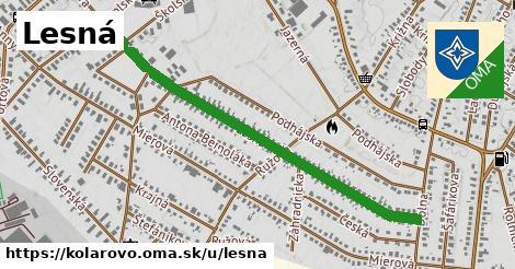 ilustrácia k Lesná, Kolárovo - 1,12km