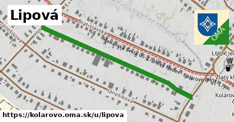 ilustrácia k Lipová, Kolárovo - 532m