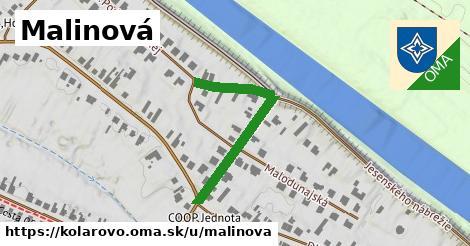 ilustrácia k Malinová, Kolárovo - 306m