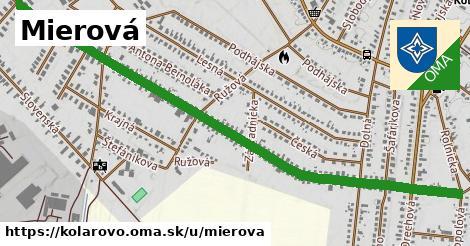 ilustrácia k Mierová, Kolárovo - 1,42km