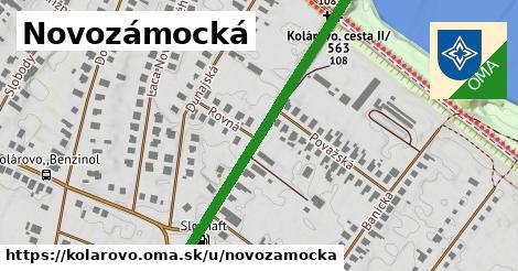 ilustrácia k Novozámocká, Kolárovo - 468m