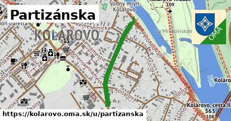 ilustrácia k Partizánska, Kolárovo - 603m