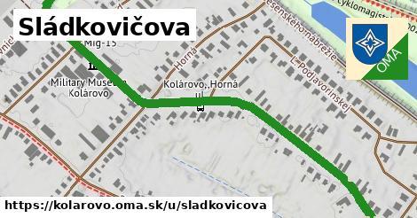 ilustrácia k Sládkovičova, Kolárovo - 1,14km