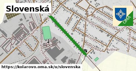 ilustrácia k Slovenská, Kolárovo - 588m