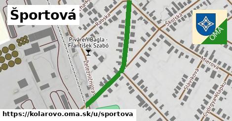 ilustrácia k Športová, Kolárovo - 401m