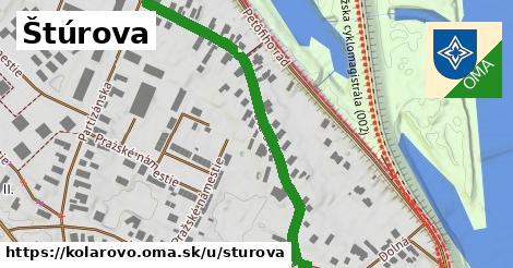 ilustrácia k Štúrova, Kolárovo - 495m