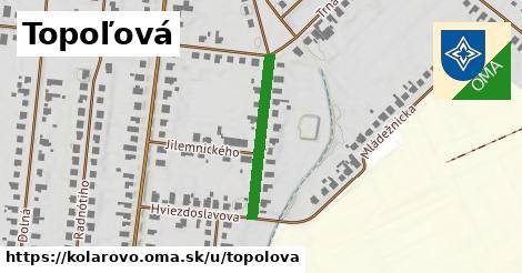 ilustrácia k Topoľová, Kolárovo - 236m