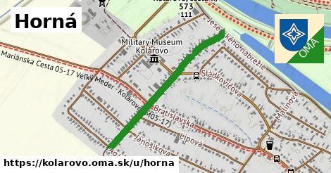 ilustrácia k Horná, Kolárovo - 0,81km