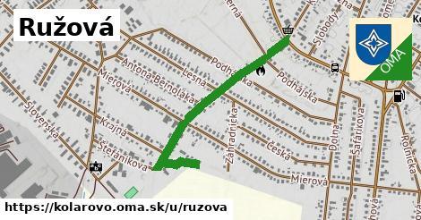 ilustrácia k Ružová, Kolárovo - 0,82km