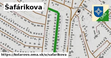 Šafárikova, Kolárovo