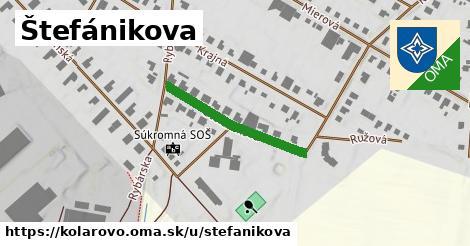 Štefánikova, Kolárovo