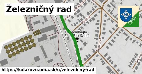 ilustrácia k Zeleznicny Rad, Kolárovo - 406m