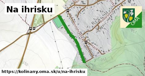 ilustrácia k Ulica na ihrisku, Kolíňany - 562m