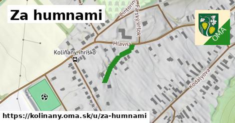 ilustrácia k Za humnami, Kolíňany - 156m