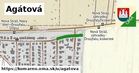 ilustrácia k Agátová, Komárno - 141m