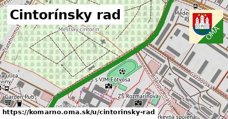 ilustrácia k Cintorínsky rad, Komárno - 599m