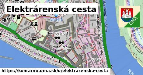 ilustrácia k Elektrárenská cesta, Komárno - 2,5km