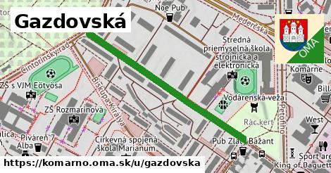 ilustrácia k Gazdovská, Komárno - 443m
