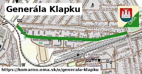 ilustračný obrázok k Generála Klapku, Komárno