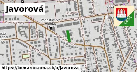 ilustrácia k Javorová, Komárno - 383m