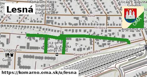 ilustrácia k Lesná, Komárno - 0,77km