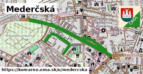 ilustračný obrázok k Mederčská, Komárno