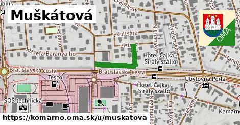 ilustrácia k Muškátová, Komárno - 198m