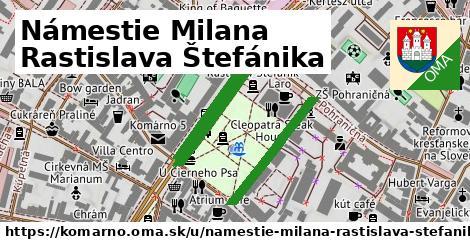 ilustračný obrázok k Námestie Milana Rastislava Štefánika, Komárno